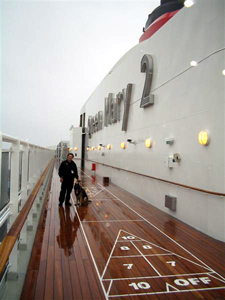 Bill on the Queen Mary